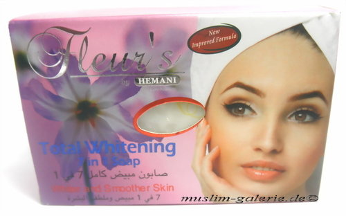HEMANI Total Whitening Seife 7 in 1 Anti Falten